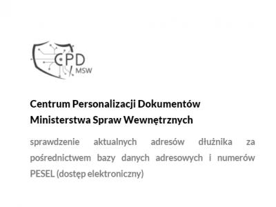 Centrum Personalizacji DokumentówMinisterstwa Spraw Wewnętrznych