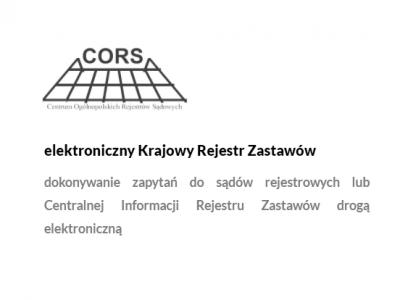 Elektroniczny Krajowy Rejestr Zastawów